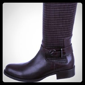 Gorgeous leather Aquatalia Ully knee-high boots.